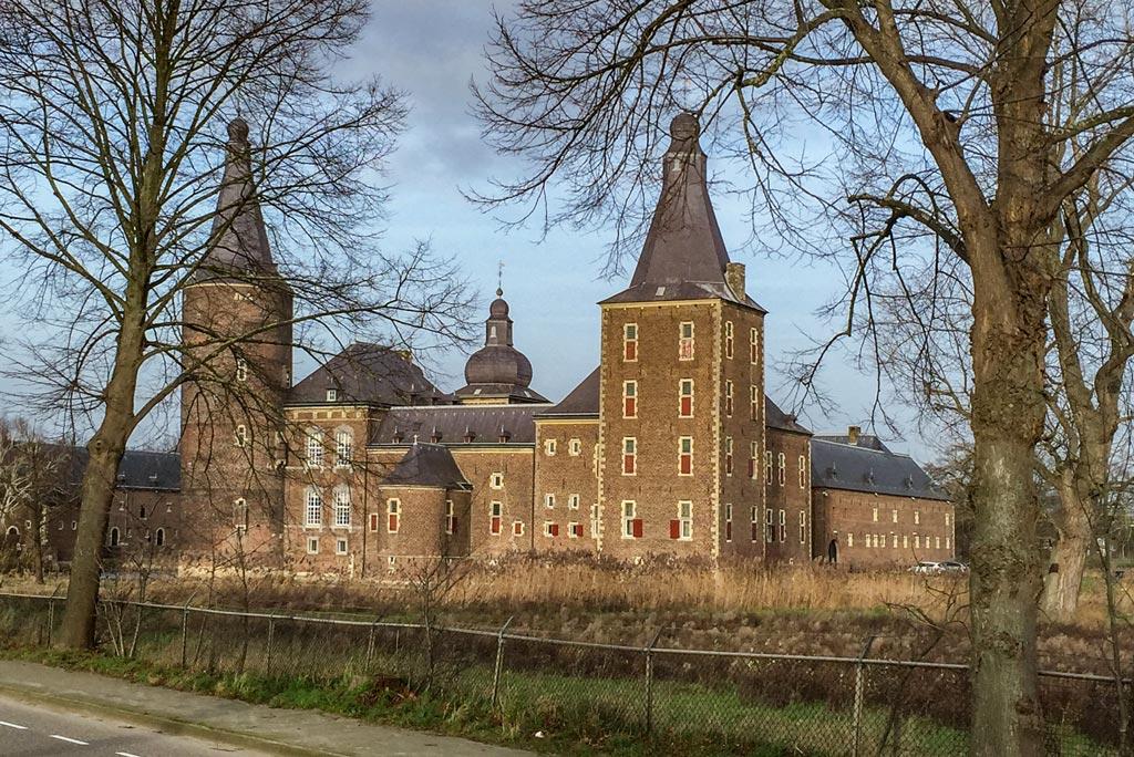Collegereeks op Kasteel Hoensbroek