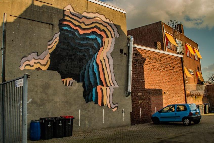 Gezichtsbedrog Mural