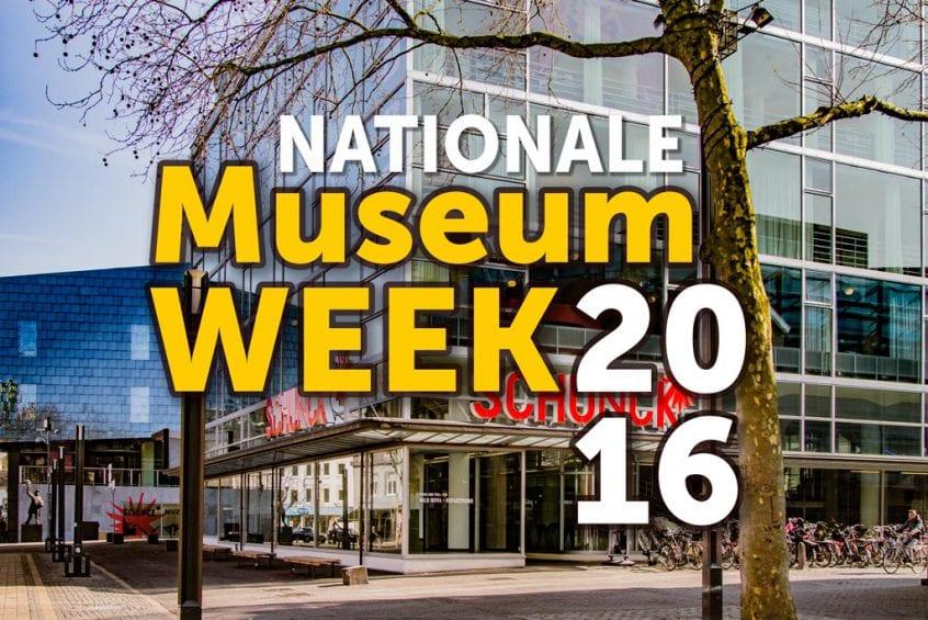 Nationale Museumweek 2016