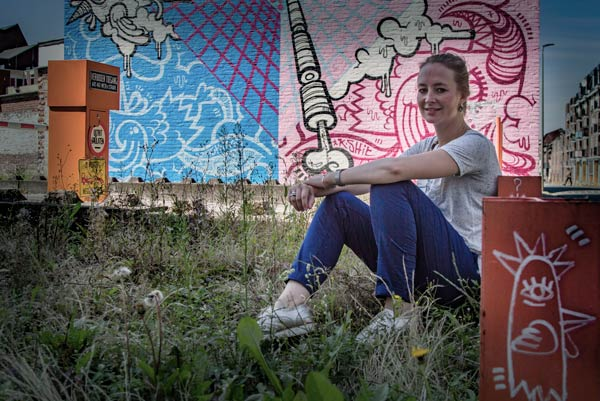 Sanne Gijsbers - Heerlens Street Art Hunter