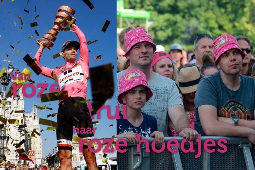 Van roze trui naar roze hoedjes